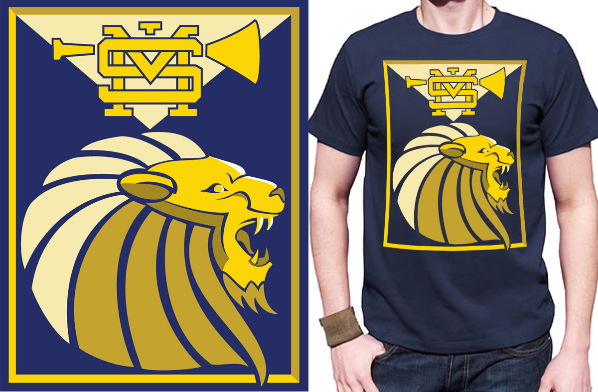 Design t shirt school - T Shirt Design Design 2089124 Submitted To High School Pep Band T
