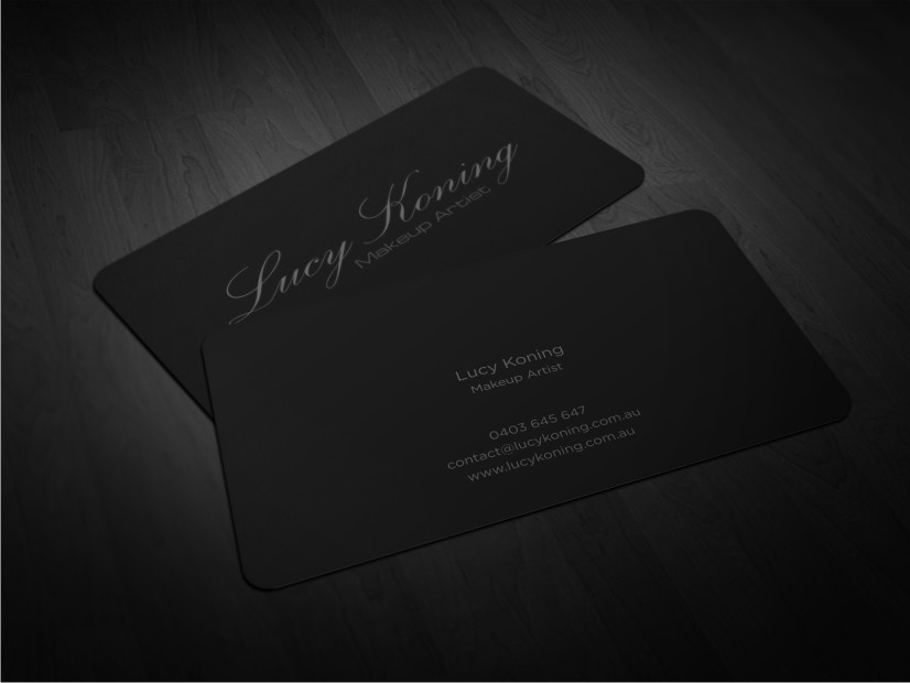 Serious, Modern Business Card Design for Lucy Koning by Atvento ...