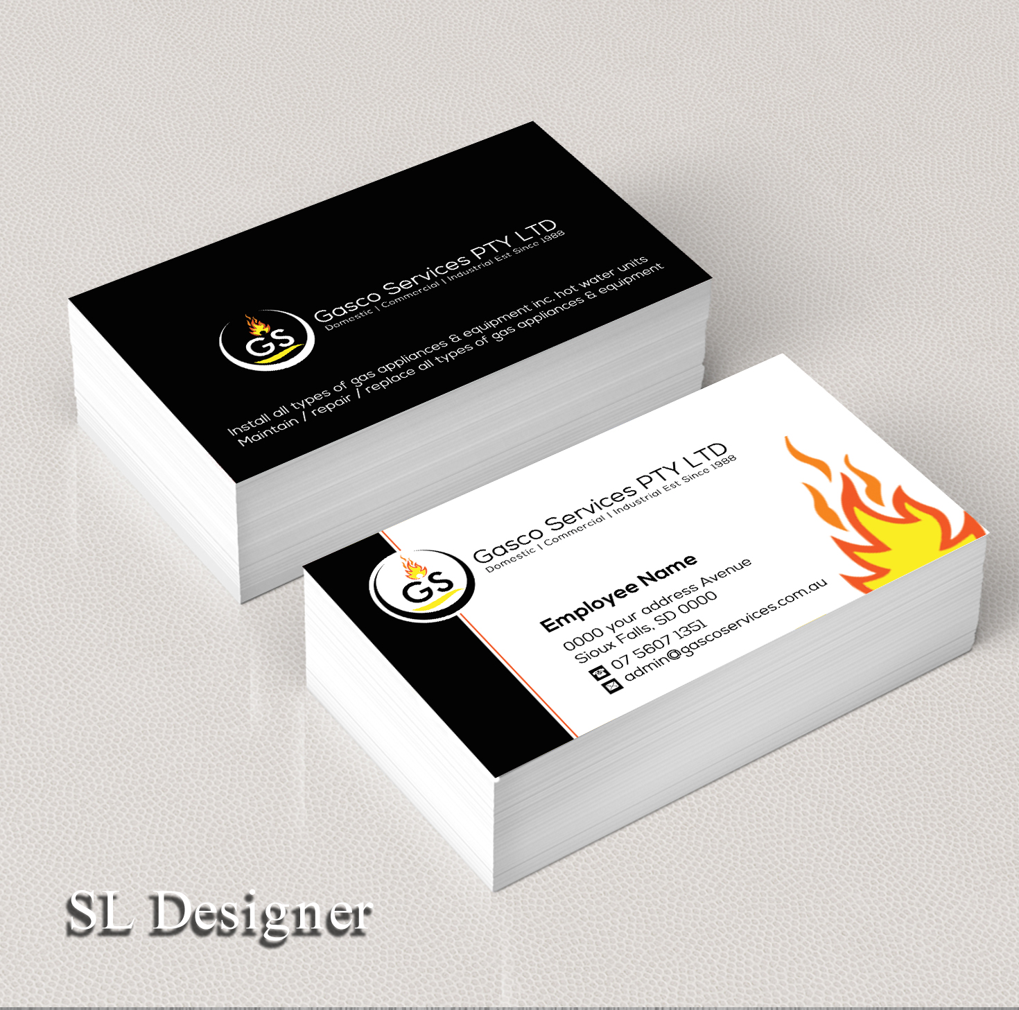 Modern, Bold Business Card Design for Ben Scerri by SL Designer ...