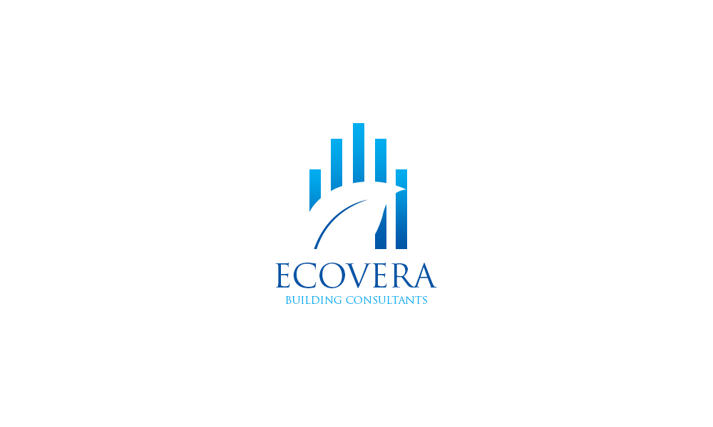 Professional serious building logo design for ecovera for Professional building designer