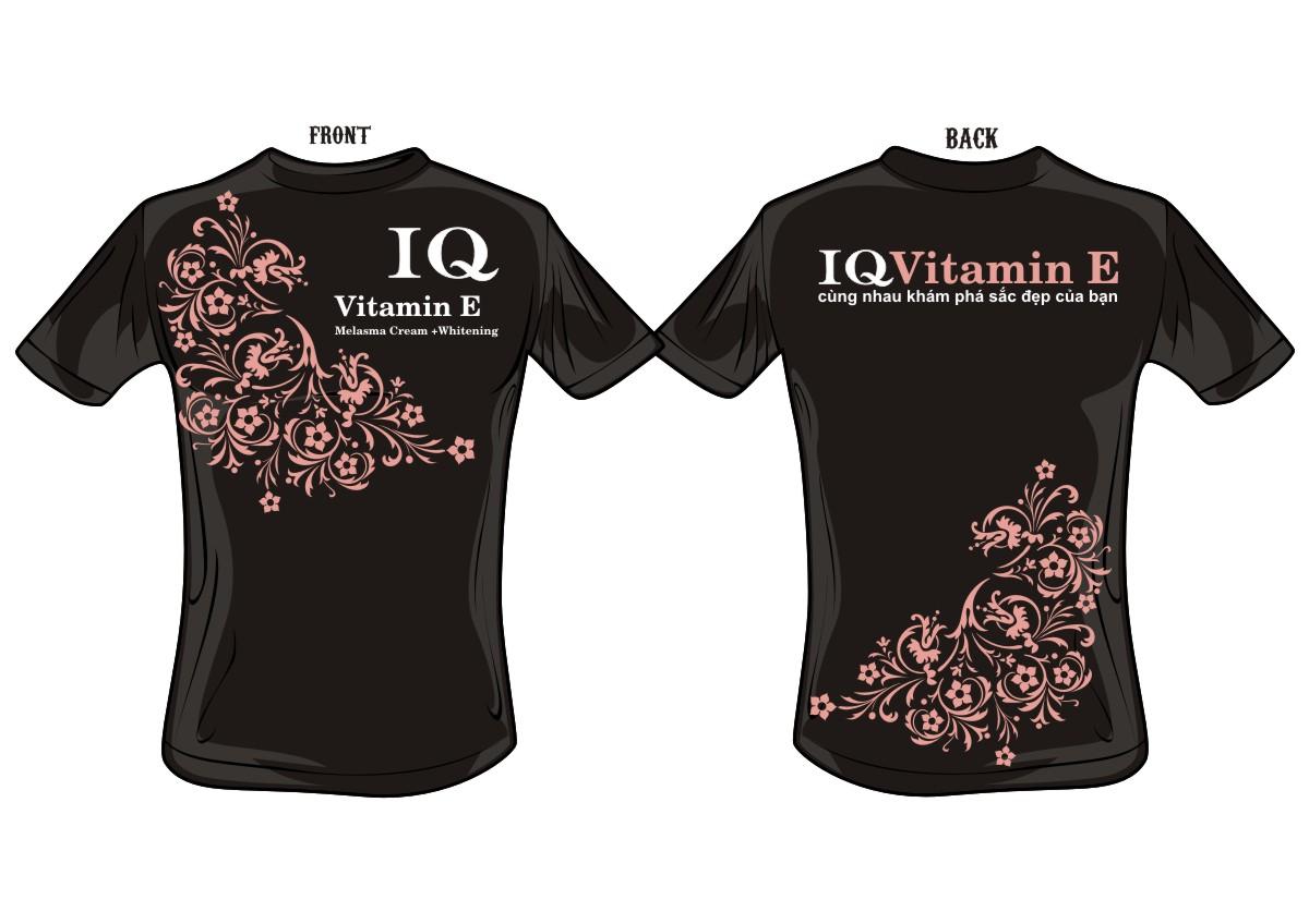 Feminine elegant cosmetics t shirt design for a company for Business t shirt design