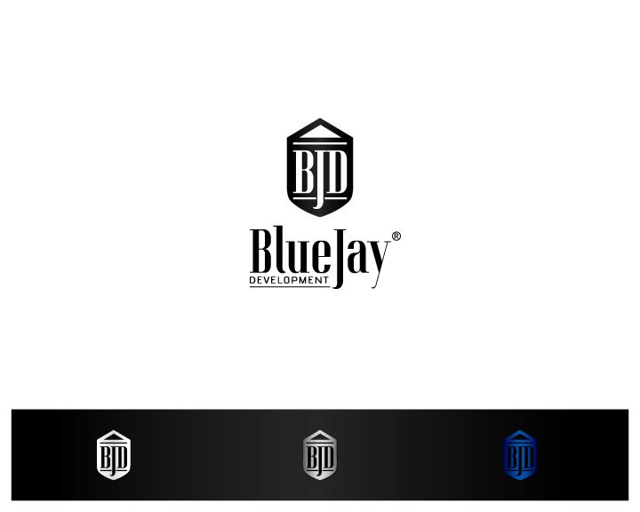 Elegant Playful Real Estate Logo Design For Blue Jay Development In United States 9527702