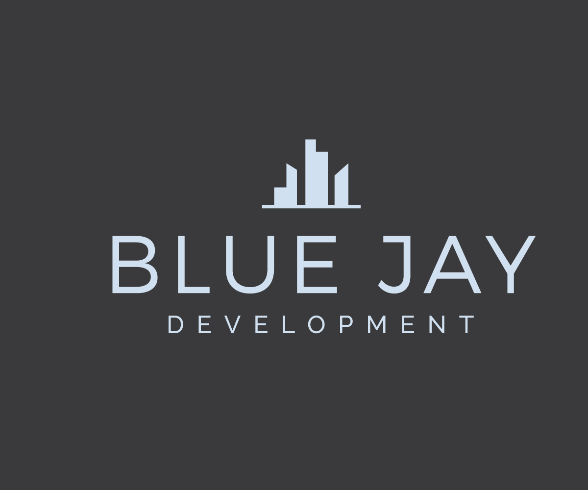 Elegant playful real estate logo design for blue jay for Design company usa