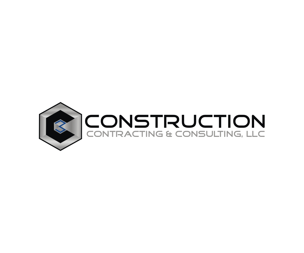 Construction logo design for construction contracting for Design consultant company