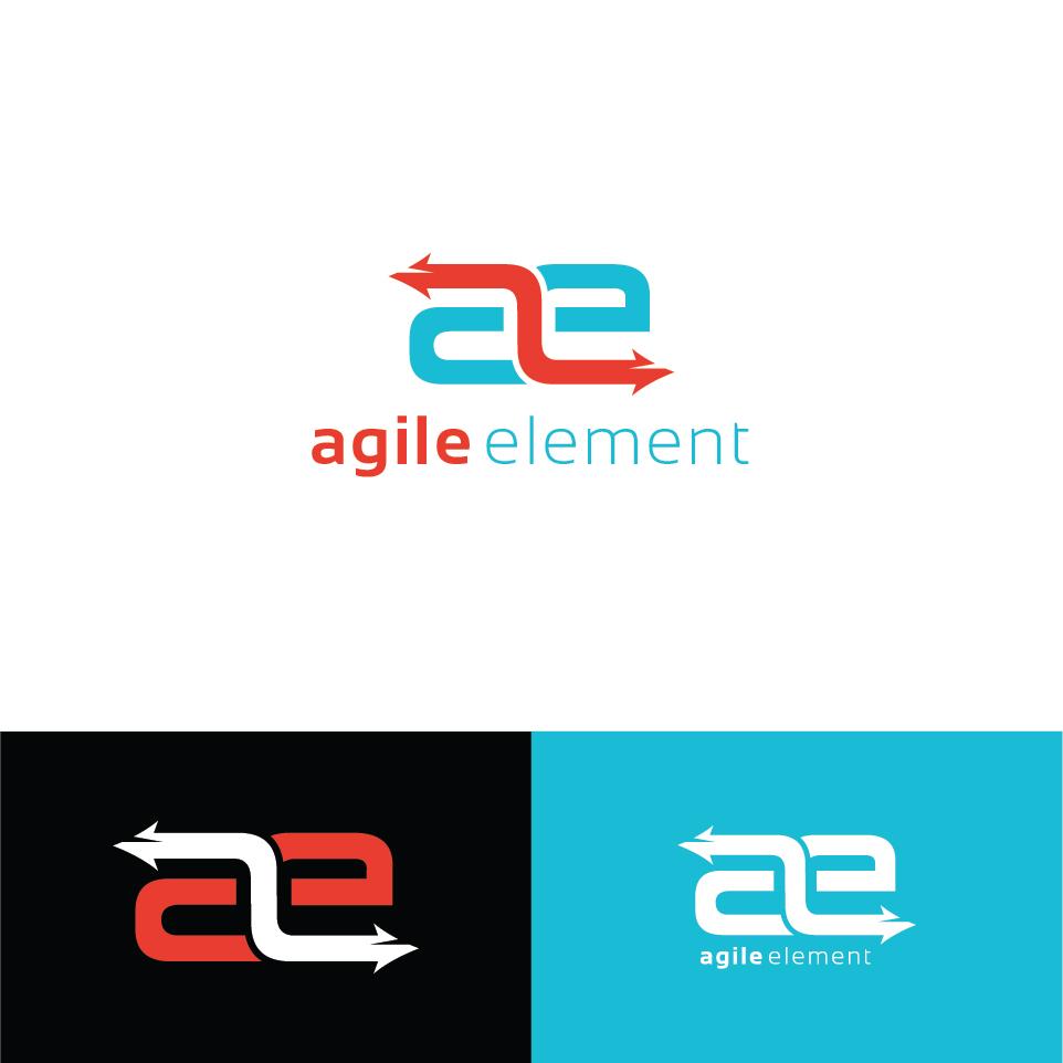 605 modern playful software logo designs for agile element for Logo drawing software