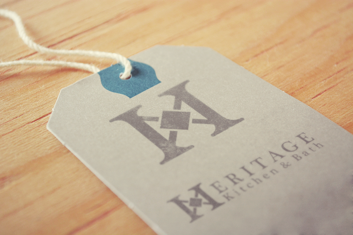 Construction Logo Design For Heritage Kitchen Amp Bath By
