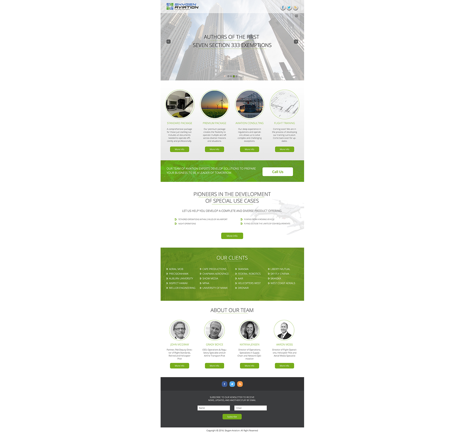 Professional Bold Agribusiness Web Design For Skygen Aviation By 5stardesigners Design 9513409