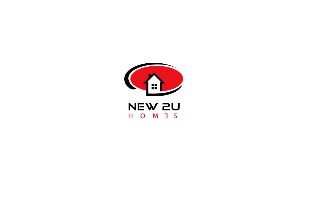 Bold, Serious, Real Estate Logo Design for New 2 U Homes by Design ...