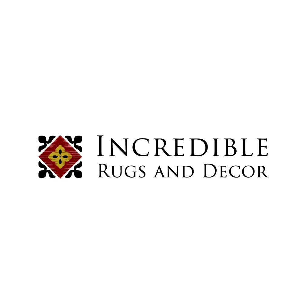 Upmarket Elegant Home And Garden Logo Design For Incredible Rugs