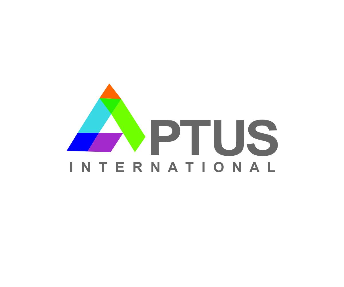 It company logo design for aptus international by watwats for International design company