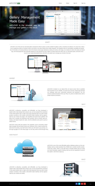 Modern Elegant Software Web Design For A Company By Pb Design 2083927