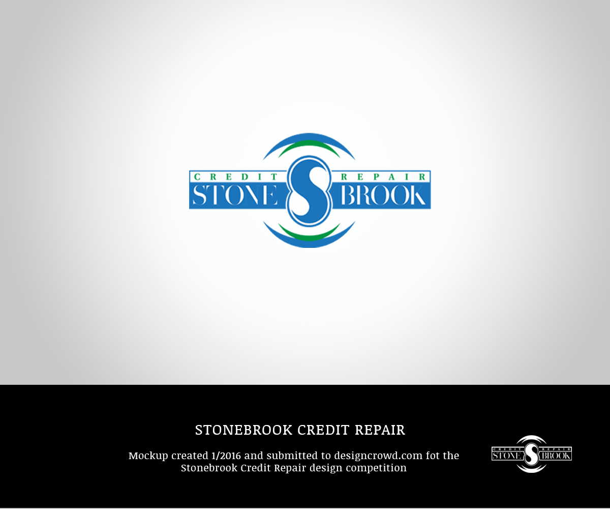 Serious Modern It Company Logo Design For Stonebrook Credit Repair By Zart Design 9553443