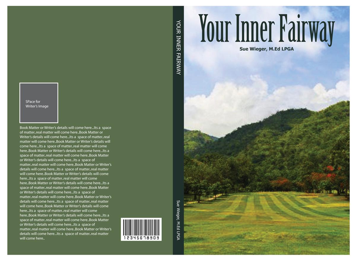 Landscape Book Cover Design : Bold playful landscape book cover design for wieger