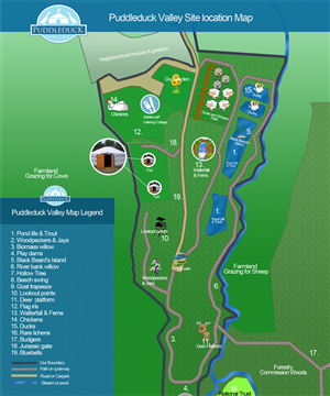 Web Design by JM - Family Nature Adventure Stay - Puddleduck Valley