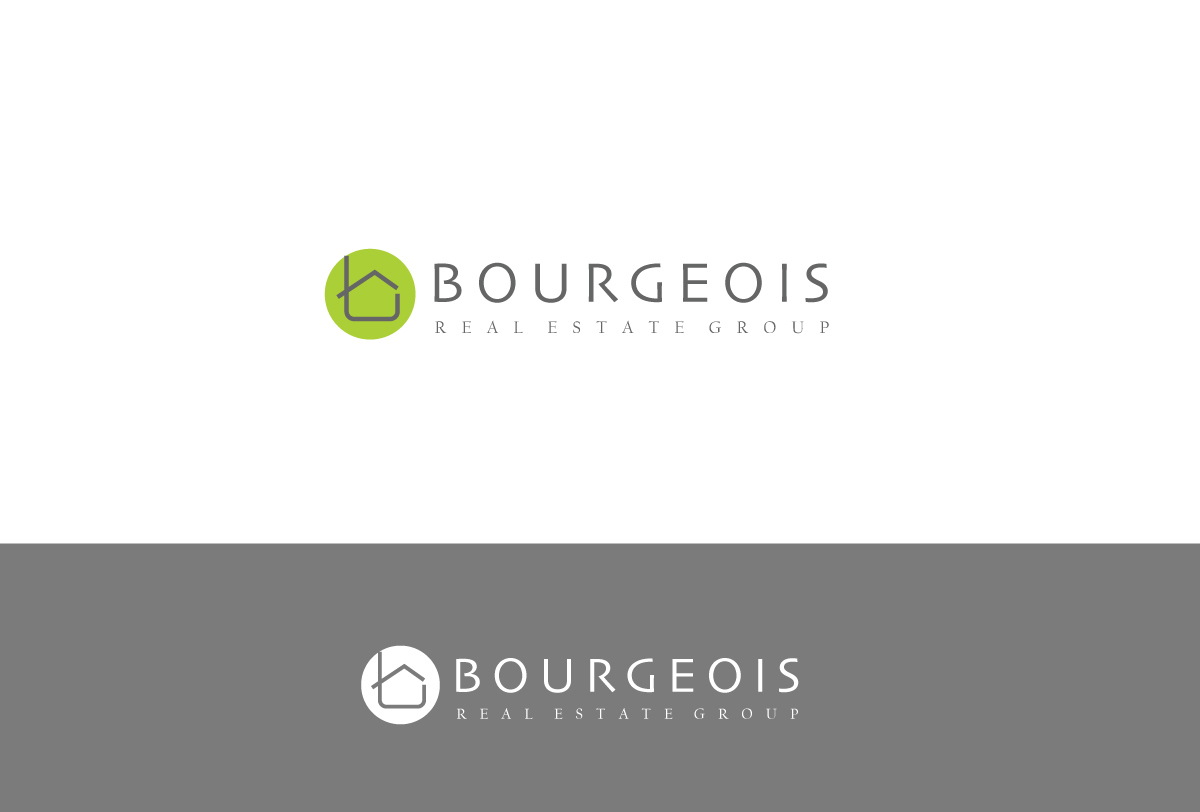 Modern Professional Logo Design For Bourgeois Real Estate