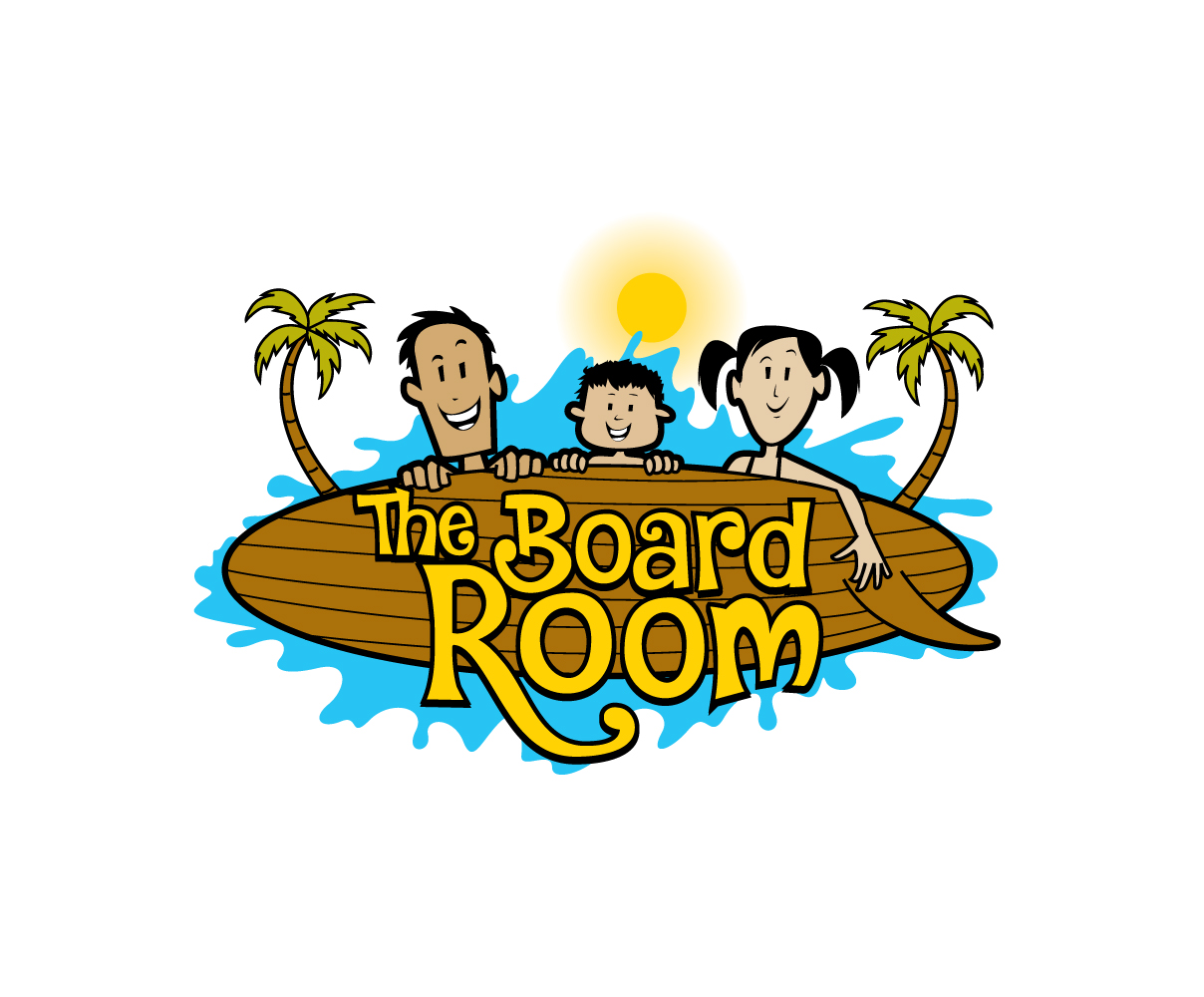 playful bold house logo design for the board room by