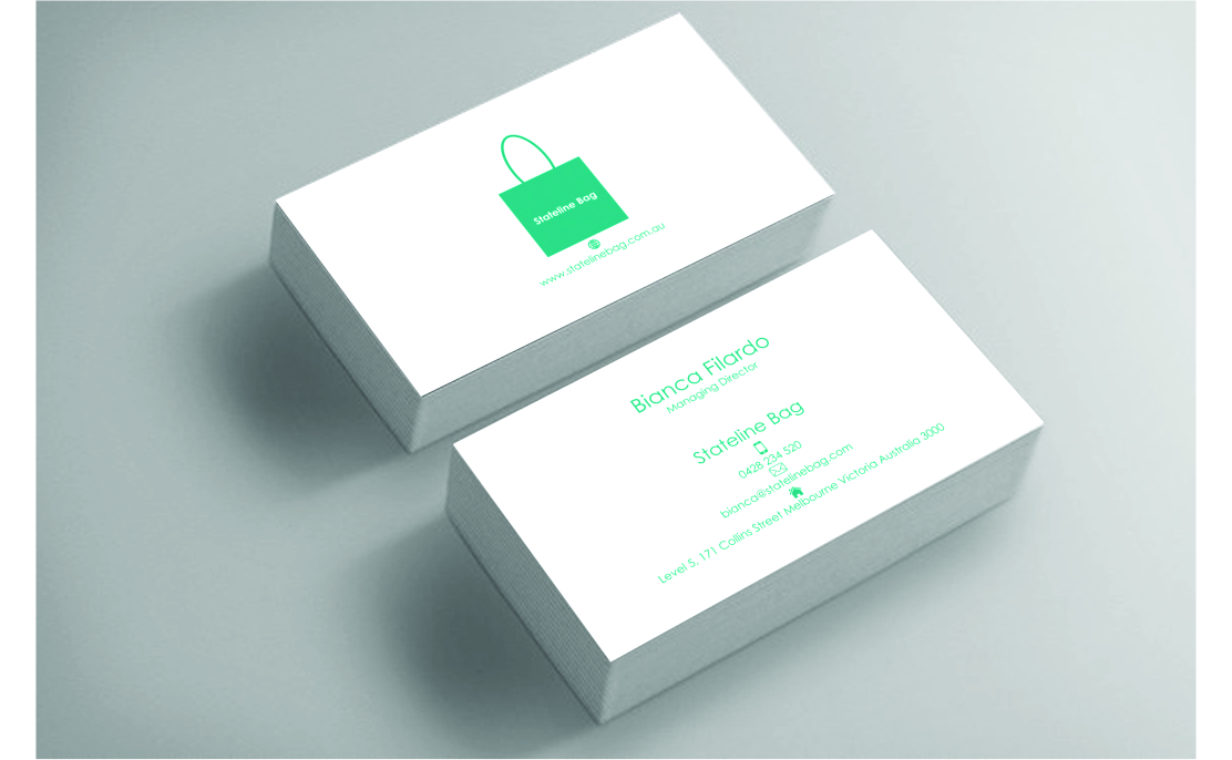Business business card design for stateline bag by matoshreedesign business business card design for stateline bag in australia design 9570890 colourmoves