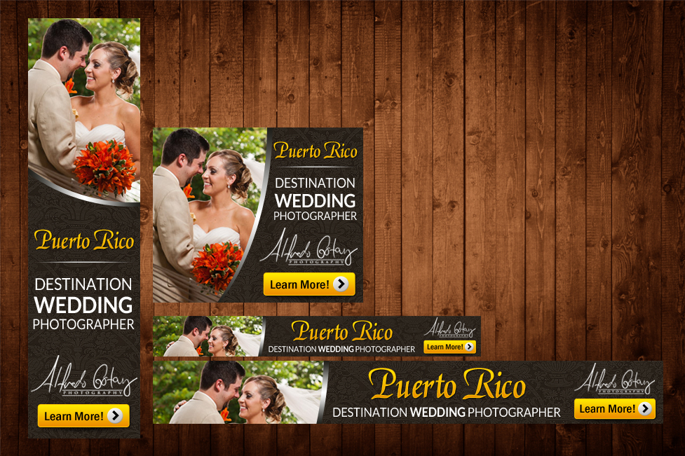 banner ad design by mary kaiser for alfredo gotay photography design 2089871