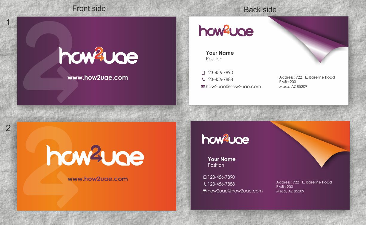 Business Card Design for Sylvia Youssef by IneseRo | Design #2088022