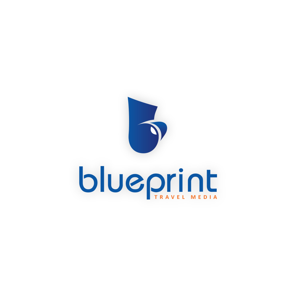 Playful professional logo design for blueprint travel media by logo design by senja for revamp of company logo for a tourism design agency publishing malvernweather Images