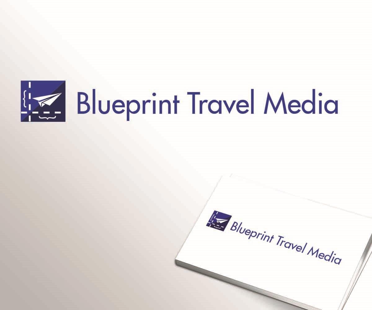 Playful professional tourism logo design for blueprint travel logo design by digital waltz for blueprint travel media design 9602240 malvernweather Images