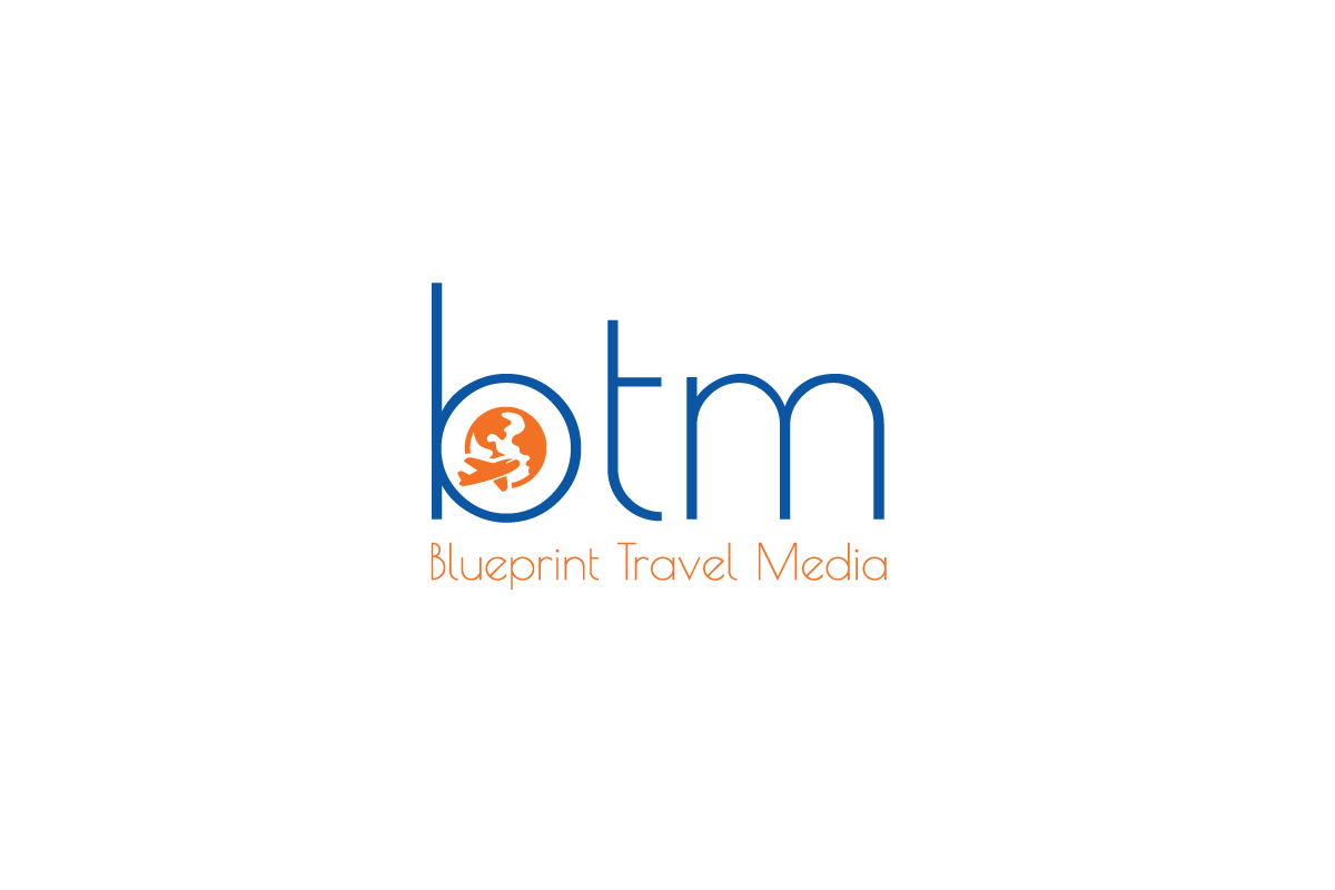 Playful professional logo design for blueprint travel media by logo design by hulk smith for revamp of company logo for a tourism design agency malvernweather Images