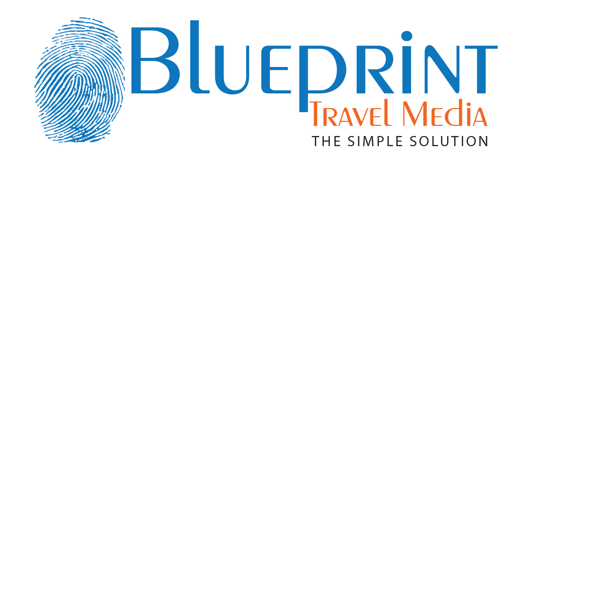 Playful professional logo design for blueprint travel media by logo design by graphic wizard for revamp of company logo for a tourism design agency malvernweather Gallery
