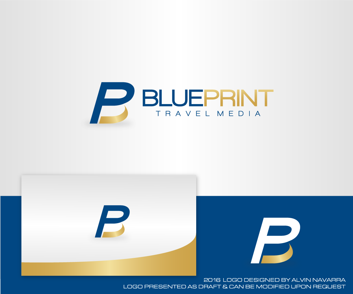 Playful professional logo design for blueprint travel media by logo design by alvinnavarra for revamp of company logo for a tourism design agency publishing malvernweather Gallery