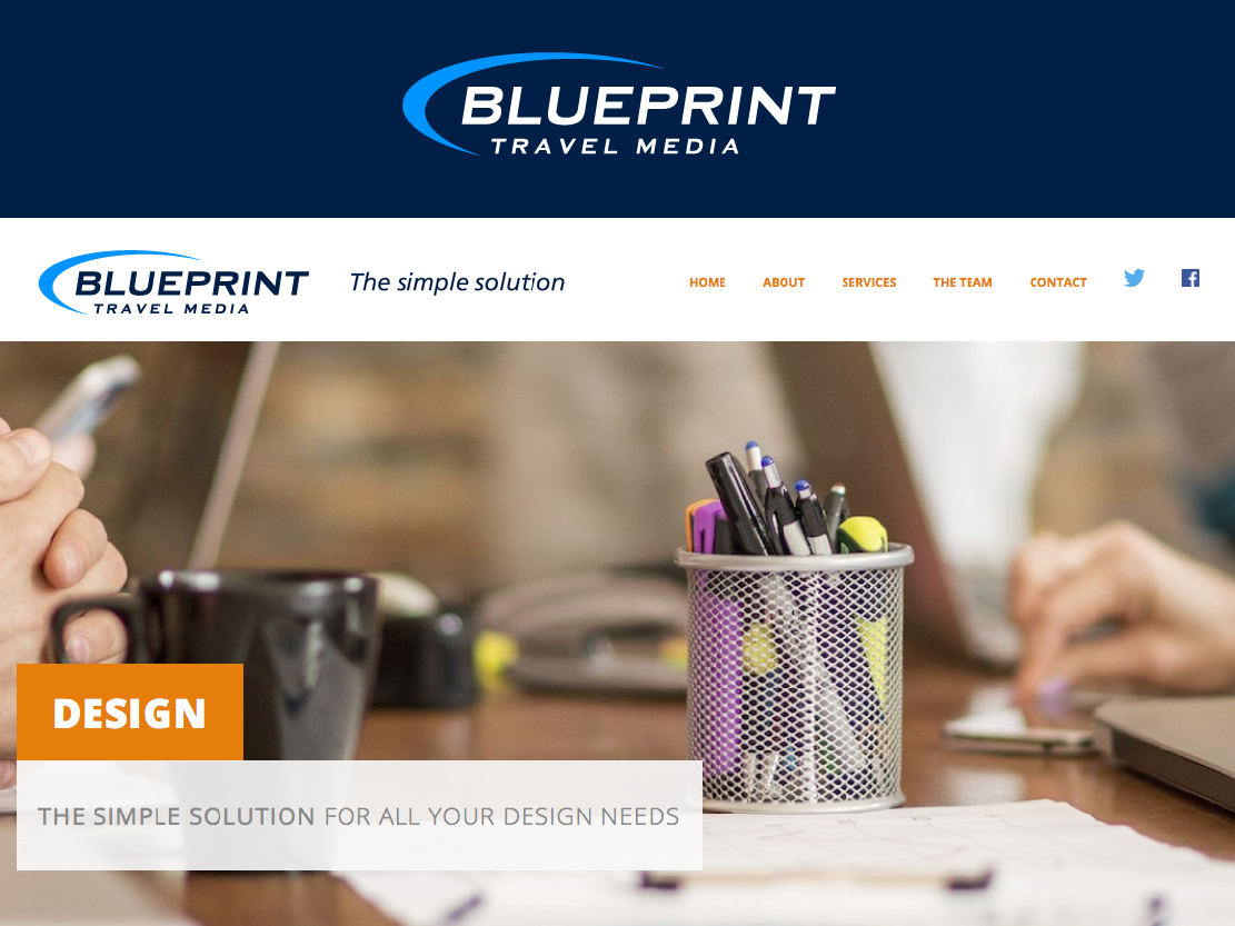 Playful professional logo design for blueprint travel media by logo design by dizinesoft for revamp of company logo for a tourism design agency publishing malvernweather Images