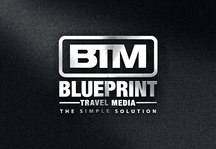 Playful professional logo design for blueprint travel media by logo design by next screen infotech for revamp of company logo for a tourism design agency malvernweather Images
