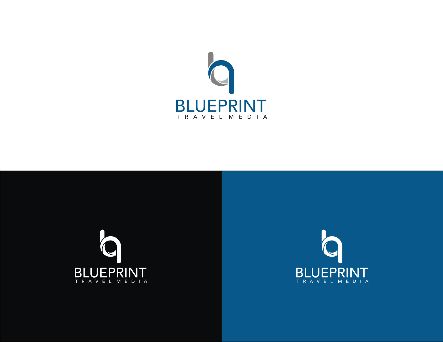 Playful professional logo design for blueprint travel media by onie logo design by onie for revamp of company logo for a tourism design agency publishing malvernweather Gallery