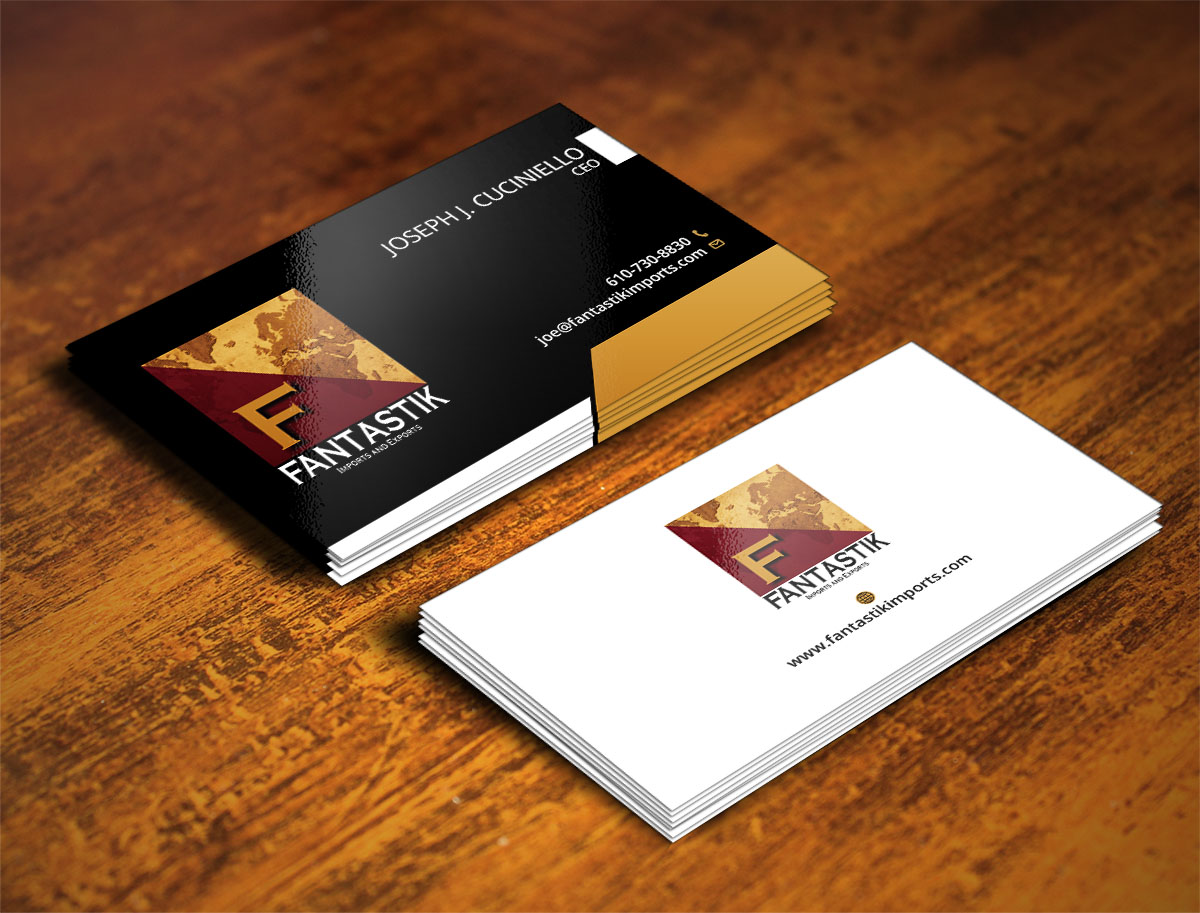Upmarket, Elegant, Business Business Card Design for a Company by ...