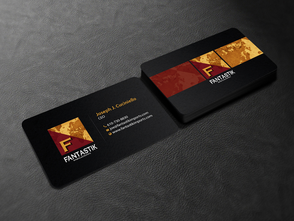Upmarket elegant business card design for amanda adamek for Contemporary business card design