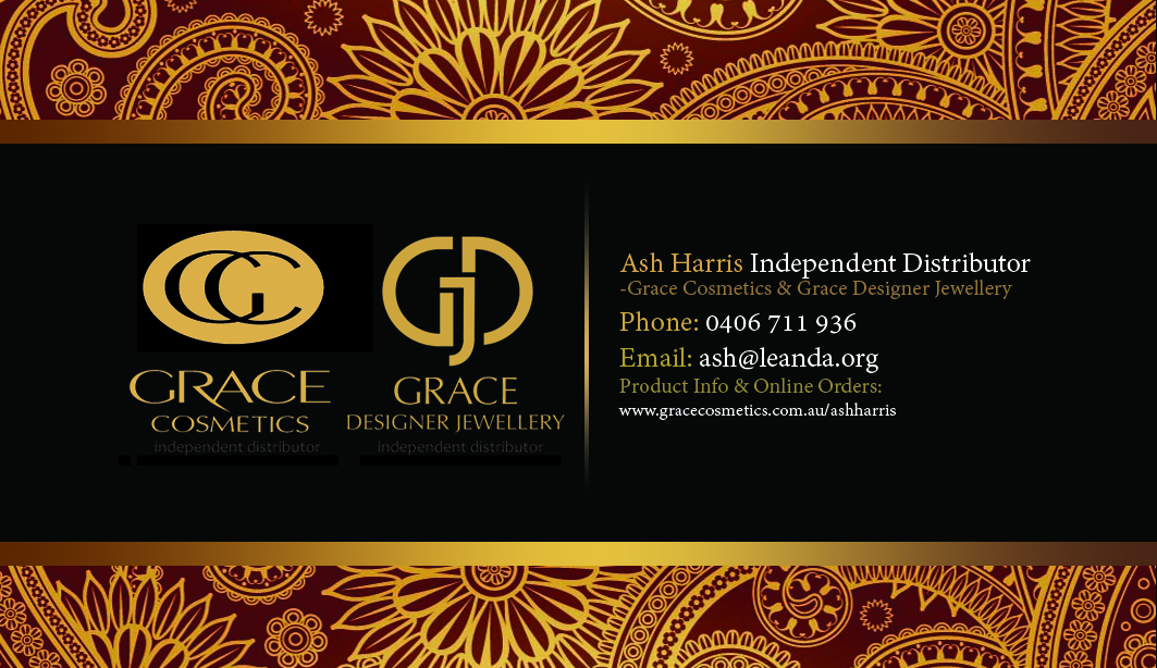 Hair Business Card Design For A Company