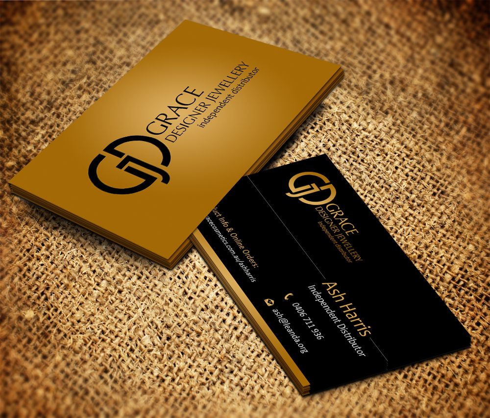 Elegant, Upmarket Business Card Design for Ash Harris by Owaisias ...