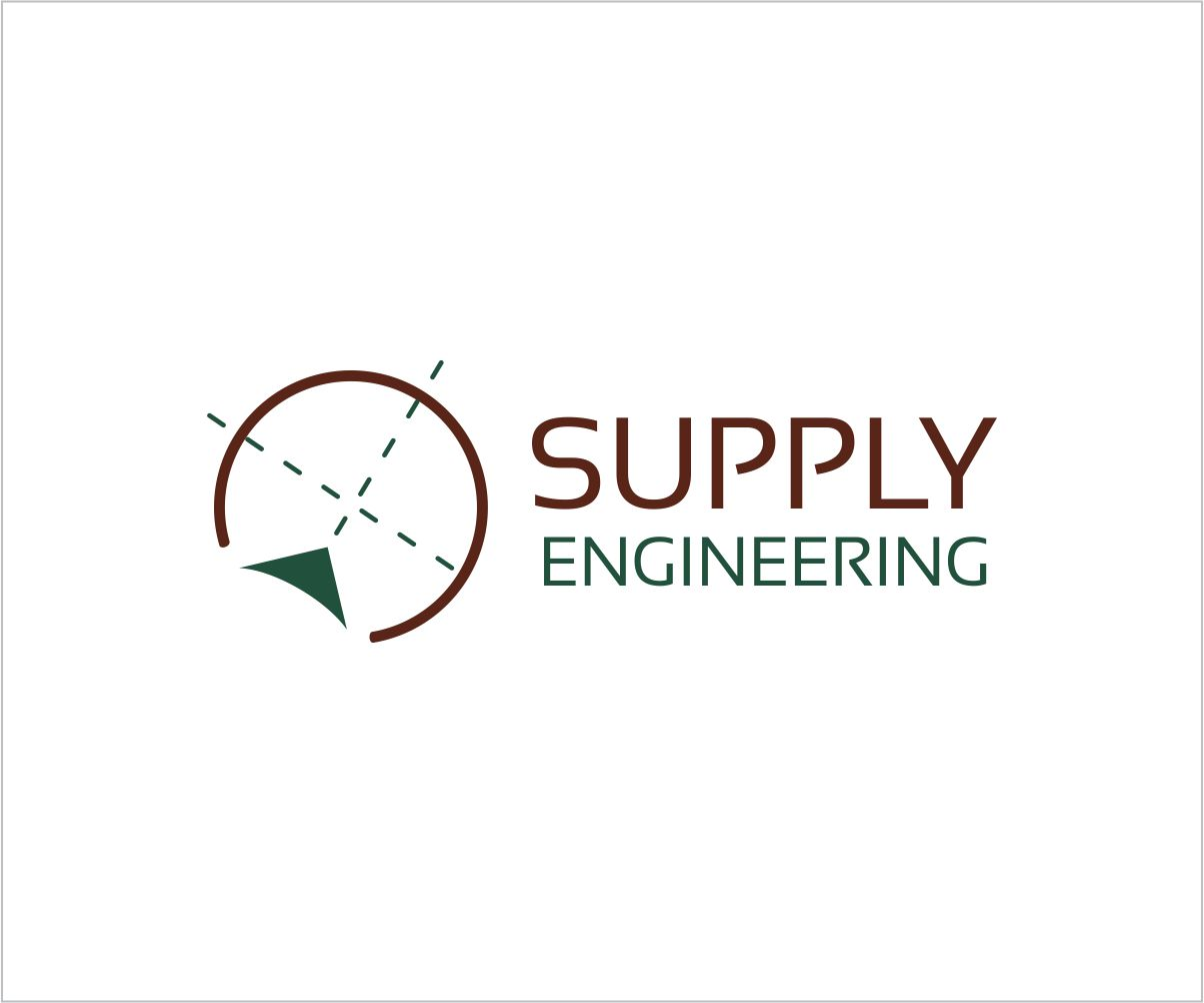 Serious modern logo design for supply engineering by tabi for Design and engineering companies