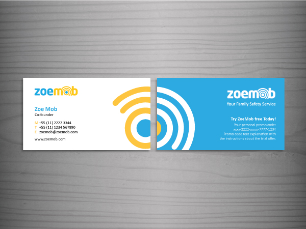 Business card mobile service