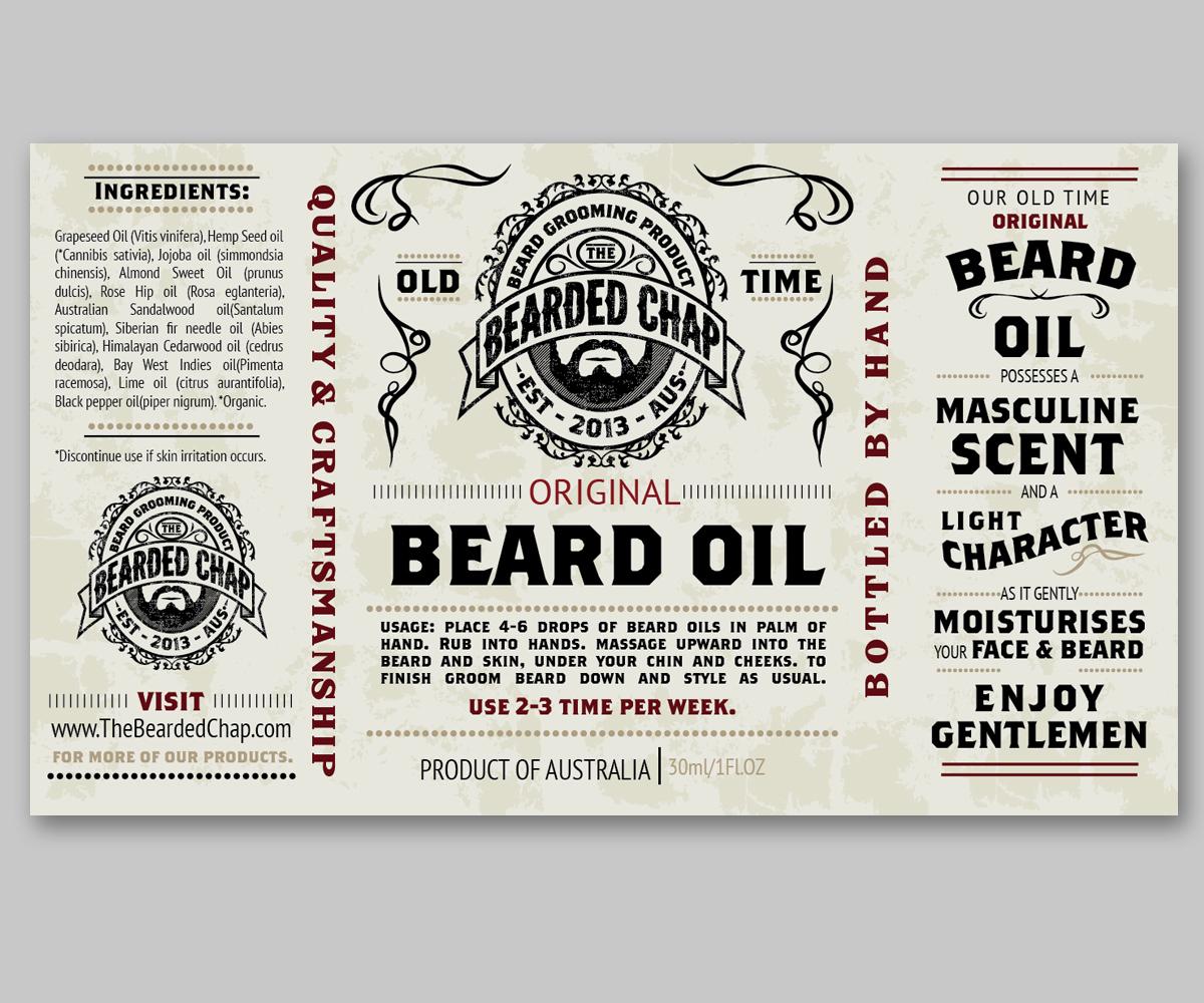 Beard graphic design
