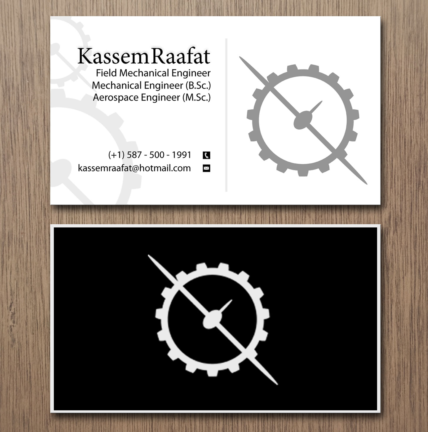 Elegant modern engineering business card design for a company by business card design by creation lanka for this project design 9692938 colourmoves