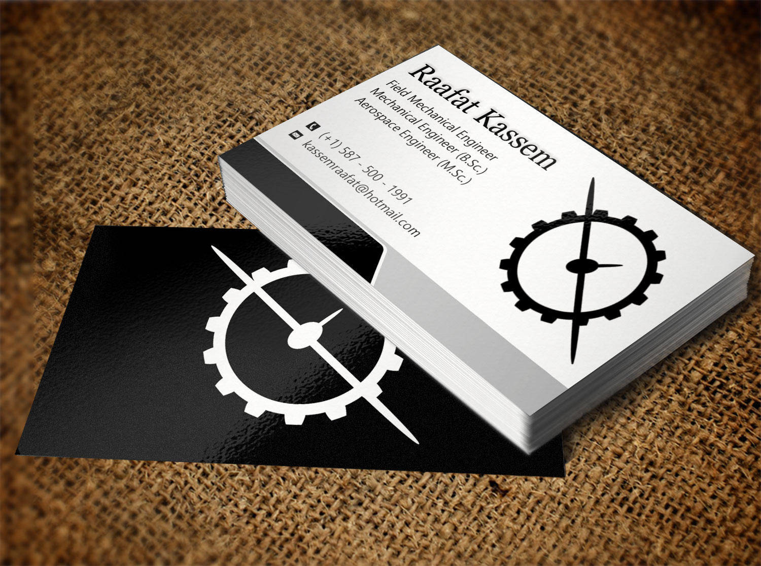 Elegant modern engineering business card design for a company by business card design by creation lanka for this project design 9692958 colourmoves