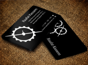 Gear business card designs 6 gear business cards to browse mechanical engineer business card design unemployed business card design by creation lanka colourmoves