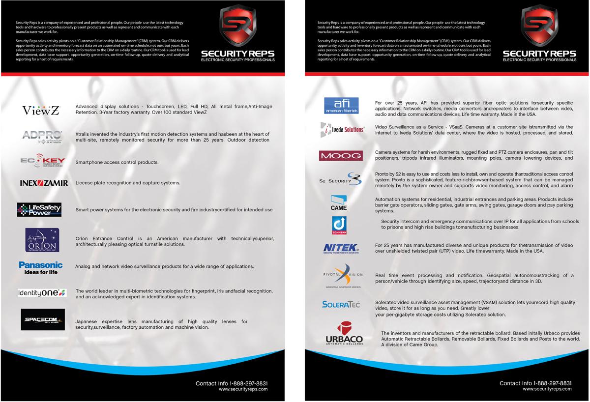 Masculine, Bold, Business Menu Design for a Company by zuCChero ...