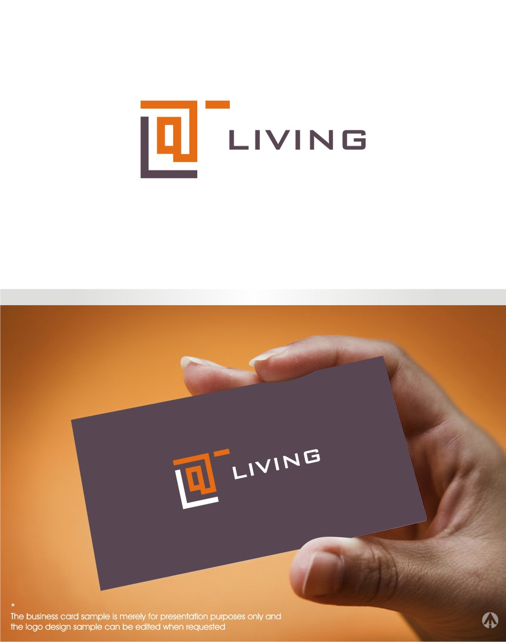 Modern Upmarket Architecture Logo Design For Living By Mbaro