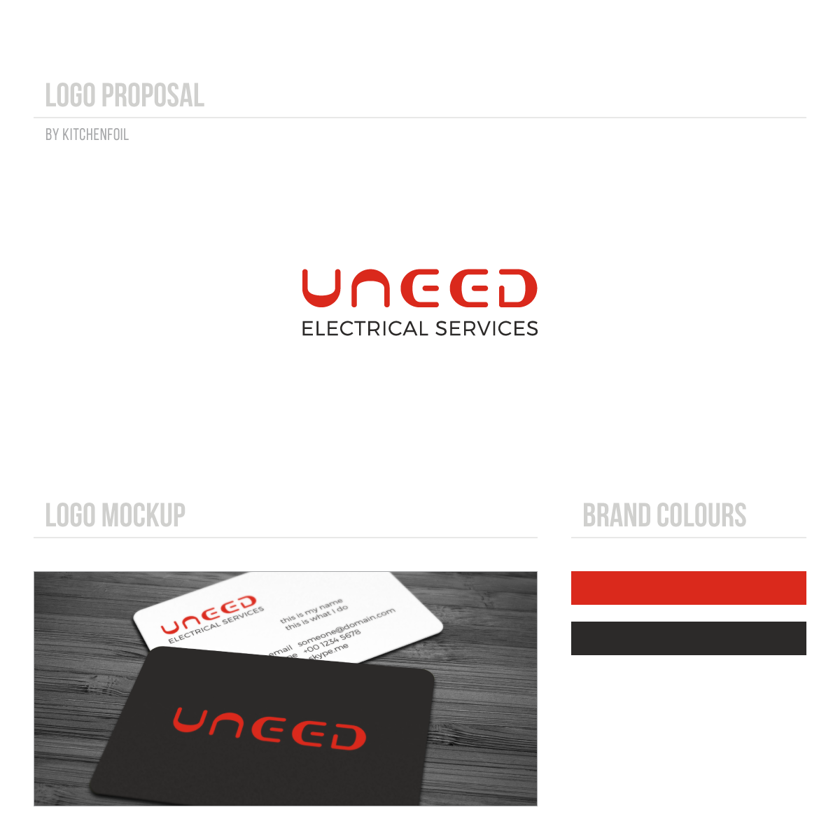 Serious professional electrician logo and business card design for logo and business card design by kitchenfoil for uneed electrical service design 9757127 colourmoves