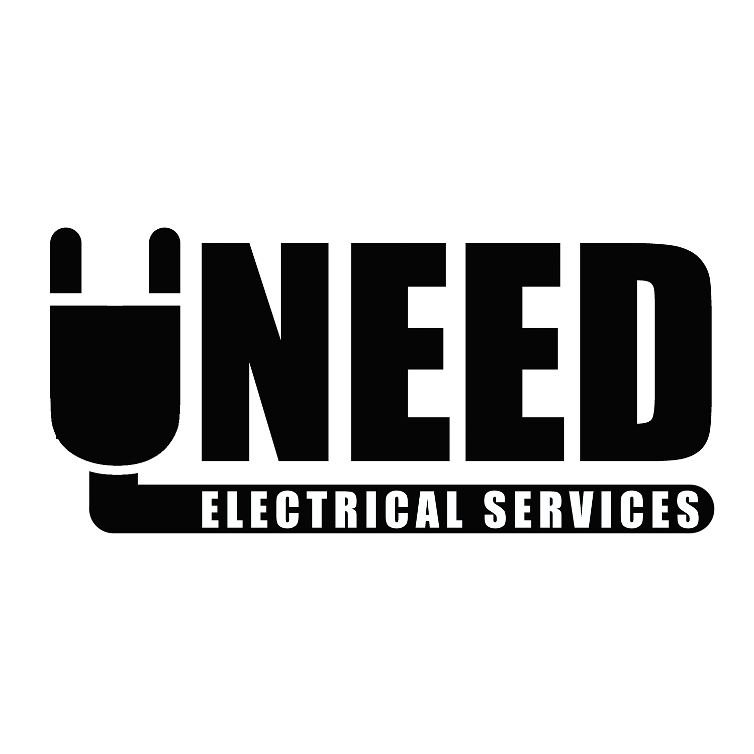 serious professional logo and business card design for uneed