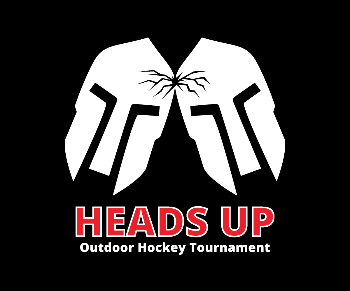 Modern Playful University Logo Design For Heads Up Outdoor Hockey