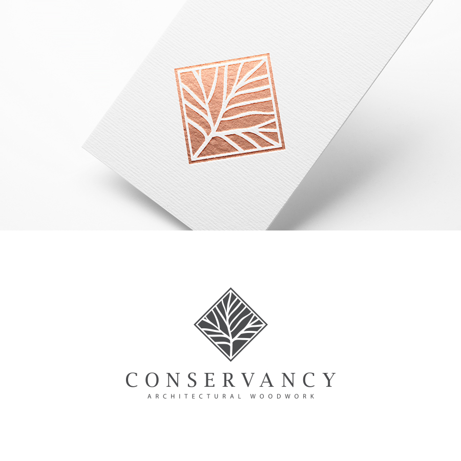 Upmarket serious woodworking logo design for for Architecture logo