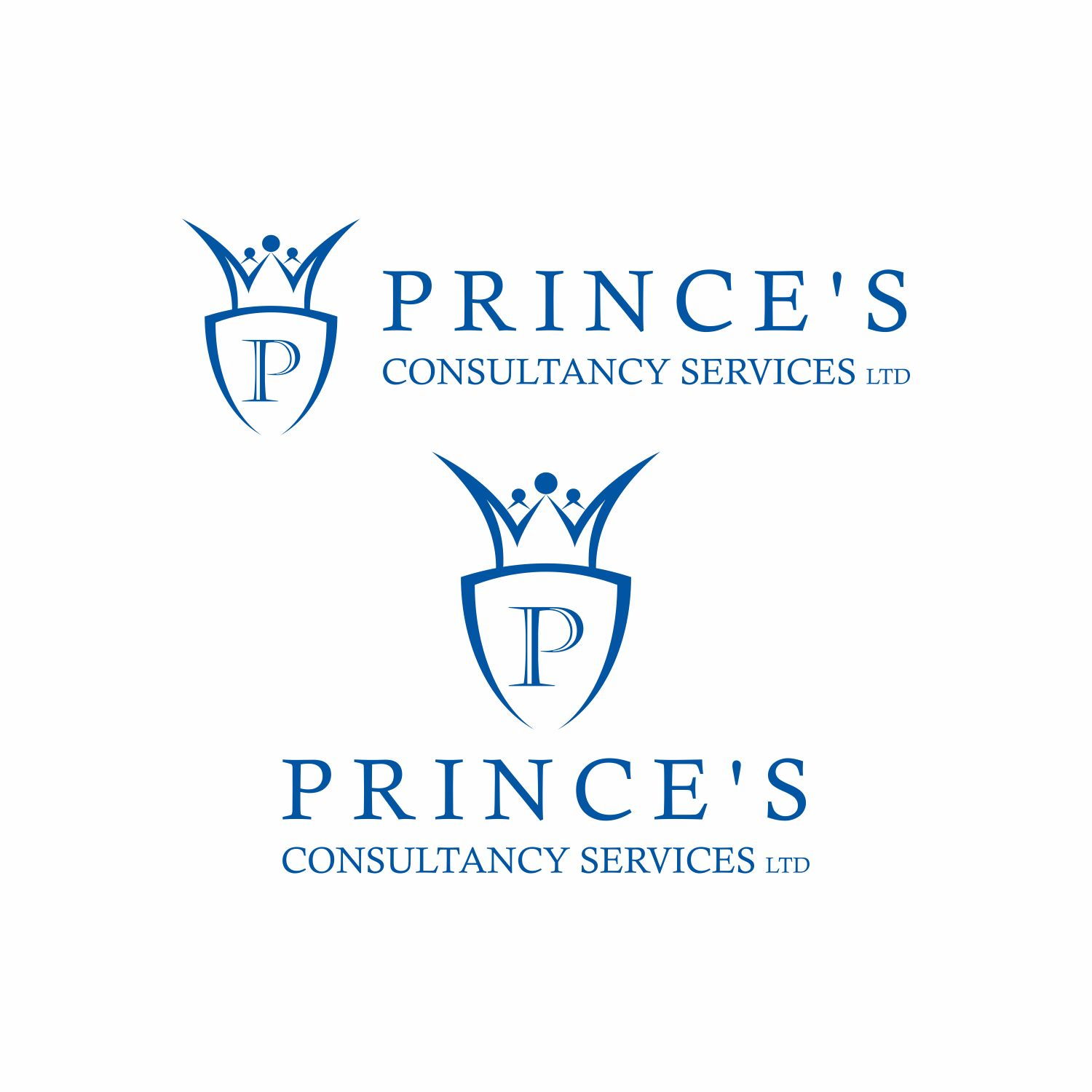 Elegant upmarket consulting logo design for prince 39 s for Design consulting services