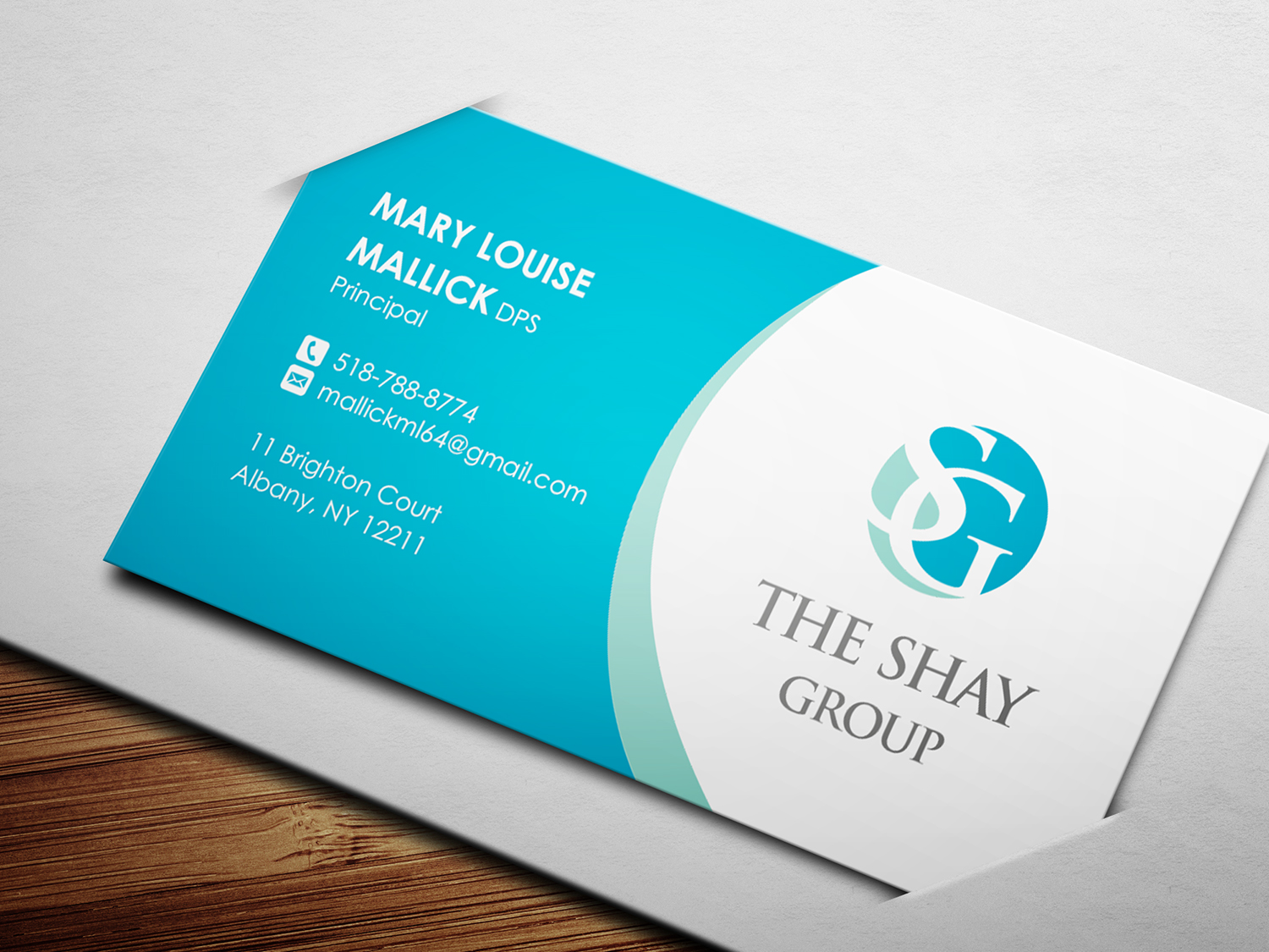 15 Elegant Playful Business Card Designs for The Shay Group a ...