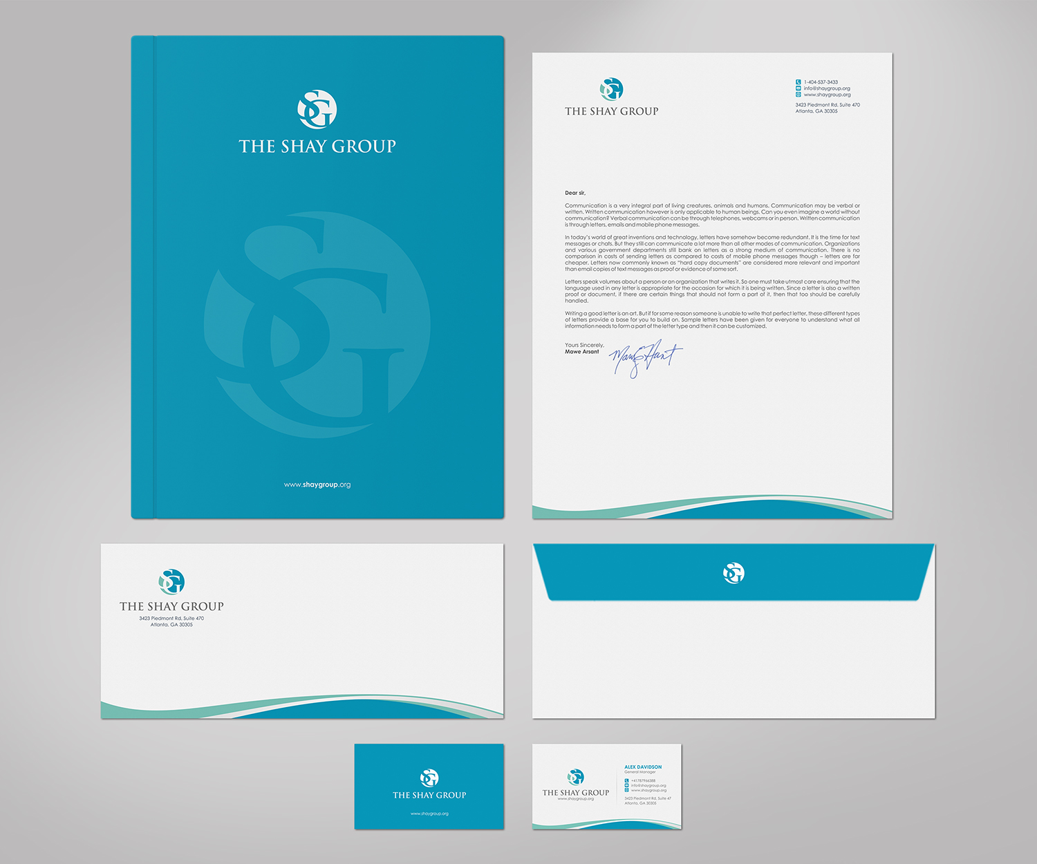 Elegant, Playful, Business Business Card Design for The Shay Group ...
